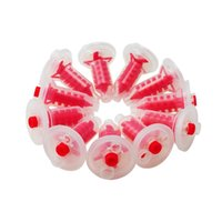 Wholesale Tip Dental - New Arrival Dental Dynamic and static mixing tube Dynamic Machine Penta Mixing Tips Impression 50 Pcs Red