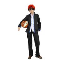Wholesale Cosplay Kagami Taiga - Milica Books Kuroko's Basketball Tetsuya Kuroko Taiga Kagami Cosplay Costume - The Deluxe Original Version