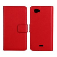 Wholesale Leather Cases For Xperia J - Mobile Phone Accessories Parts Mobile Phone Bags Cases 100%Genuine leather for Sony Xperia J St26i flip case flip cover Flip vertical cell