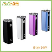 Wholesale Ego Vw - Ismoka Eleaf iStick 30W E Cigarette 2200mAh Capacity of Box Mod 510VV VW Ego Battery VS eGo One
