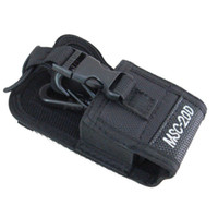 Walkie Talkie Bolsa Holster MSC-20D Nylon Carry Case para Kenwood Rádio portátil BaoFeng UV-5R UV-6R GT-3 BF-888S UV-82 DM-5R plus