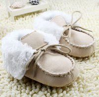 Wholesale Cheap Baby Winter Boots - Lapel baby boots baby shoes,warm children shoes,non-slip winter toddler shoes,soft kids shoes,cheap snow boots,walker shoes!6pairs 12pcs.C