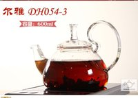 Wholesale Induction Cooker Set - Induction cooker special teapot elegant break-proof pot high borosilicate glass safe stainless steel filter MSD DH054-600ml