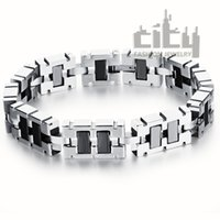 Wholesale Coolest Cheap Jewelry - Wholesale-Wholesale Cheap Price Fashion Jewelry New Cool Men'ss Stainless Steel Delicate Hematite Health Care Bracelets For Sportman