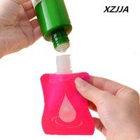 Wholesale Hand Sanitizer Bottles Wholesale - Wholesale- 3PCS Portable Mini Dispenser Bottle shower gel shampoo bottles travel essential Liquid Remover Hand Sanitizer Containers 30ml