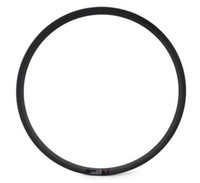 "Wholesale Carbon Wheel Sets Wholesale - new arrivel 29"" mtb carbon clincher rims ball style hookless full carbon rims 25x30mm wide straight flange carbon rim with 32h"