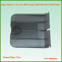 Wholesale Hp Series Printers - NEW Paper Delivery Tray Assembly Output Paper Tray RM1-0659-000 For HP 1010 1012 1015 1018 Series Printer Free Shipping