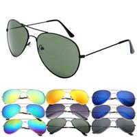 Wholesale Vintage Glass Frog - Wholesale-Brand New Unisex Vintage Retro Sunglasses Fashion Travel Free Shipping frog mirror sun glasses 8pcs lot multi-color