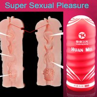 Wholesale Silicone Cup Masturbator - Sex Dolls For Men Masturbation Cup Male Vagina Pussy Love Dolls Pocket Pussy Sex Toy Full Silicone Sex Doll Hymen Masturbator Free Shipping