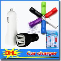Wholesale Ipad Mini Power Dock - Mini 2 USB Micro Car Charger Adapter 12V for iPod Touch ipad mini iPhone 4 4S 5 mobile phone mp3 mp4 colorful