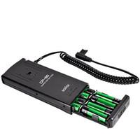 Wholesale External Flash Battery - Godox CP-80 External Flash Battery Pack For Canon 550EX 580EX II Speedlite Flash F15197