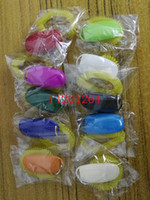 Wholesale Dog Whistle Clicker - 10pcs lot Free Shipping wholesale Fashion Dog Pet Click Clicker Training Trainer Aid Wrist Mix colors