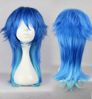 Wholesale Images Boy Accessories - Anime Wigs 2016 New Arrive 60CM Long Party Hair Accessories Wig Cheap Modest Hot Sale Halloween Decoration Mis Color Real Image Free Shippin