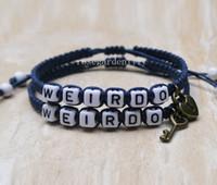 Wholesale Couples Lock Key Bracelet - Key lock Bracelet,Weirdo Bracelets, Couples Bracelets,Couples Gift, Personalized Gift, Custom Bracelets, Boyfriend Girlfriend,gift idea