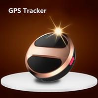 mini gps portáteis de rastreamento venda por atacado-Mini Pessoal GPS Tracker T8 Localizador de Rastreador de Carro Portátil GPS GSM GPRS Rastreador Dispositivo de Rastreamento em Tempo Real com caixa de varejo