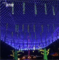 320LED 768LED 2600 LED Net String Light LED Cortina de luz Waterproof LED String Lights Grande Natal Net Light LED String Wedding Lights