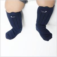Wholesale Toddler Tube Socks Kids - Good Quality Toddler Baby Socks 2015 Autumn Winter Non Slip 3D Cat Tube Socks Kids Stocking Socks Middle Tube Socks Leg Warmers 2 Sizes