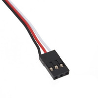 Wholesale rc car led online - 5pcs cm mm Lead Wire Cabel control RC Servo Extension cord For Helicopter Airplane Car etc Brand New