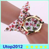 Wholesale Wholesale Auto Fabric - 2017 Hot Sale Famous Brand Fashion Casual Fabric Bracelet Watch Wristwatch Women Watch GENEVA Watch XR1886