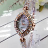 Wholesale Cheap Wholesale Designer Watches - New Fashion Hot Luxury Wristatches Artificial Gem gift Unique Rhinestone Diamond Designer Women Quartz watches Cheap China watches