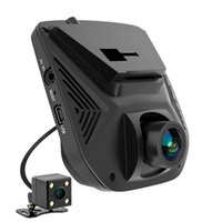 sony memory cards Canada - Dual Lens FHD 1080P Car DVR Novatek 96658 LCD Screen Sony IMX323 Car Video Recorder Dash Cam With Rear Camera