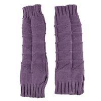 Wholesale fingerless crochet gloves - Wholesale-Modern women's Skin care Fingerless arm Mitten 32cm Long Sleeve Gloves braided knit crochet wool arm warmer gloves jun30