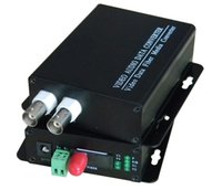 Wholesale Digital Fiber Video Media - Wholesale-2 Channel digital video Date fiber optic media converter 2V1D RS485 FC 2pcs 1pair