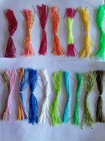 gabarits de jupe de poulpe achat en gros de-accessoires de bricolage jupe poulpe silicone leurre jig head / grenouille / spinner