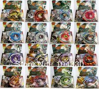 16pcs / lot Beyblade di rapidità 4D Metal Battle rotella Top Fusion lotta Master System