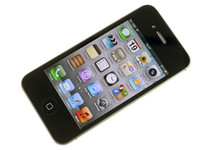 Wholesale Iphone4s Cellphones - iPhone4s Unlocked Original Apple iPhone 4S mobile phone 3G wifi GPS 16GB 32GB ROM iOS 8 Dual Core cell phones Wholesale by DHL