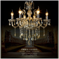 Wholesale-Free Shipping Cheap Modern Crystal Chandelier Decorative Lamp for  Dining Room Decor with 5 Years Warranty (Model:CC-N078-6) from dropshipping