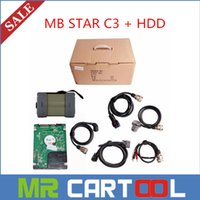 Wholesale Mercedes Benz Star Diagnosis C3 - Hot selling 2015.07 newly version Professional MB Star C3 mercedes benz diagnosis multiplexer with software HDD DHL free shipping