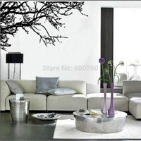Wholesale Wall Stickers Trees Branches - Large Tree Branch Wall Sticker Removable Decal Home Decor Vinyl Art Mural 2015 fashion free shipping hot sales