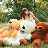 Wholesale Giant Soft Toys - New arrival 200 cm giant teddy bear stuffed toy soft plush toy valentine's gift for girls birthday gift toys for children