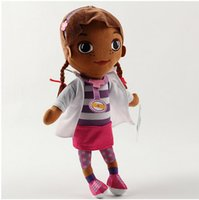 Wholesale Wholesale Doc Mcstuffins Toys - Wholesale-Free shipping New 1Pcs Doc McStuffins Doctor Girls 35cm Size Plush Toys Stuffed Dolls Brinquedos ,Birthday gift
