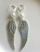 Wholesale Golf Clubs For Women - Antique Silver Club Golf Charms Pendants Earrings Vintage Dangle Earrings For Women Dress Brand DIY Fashion Jewelry N2022