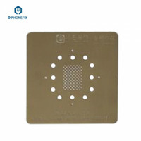 Wholesale Iphone Bga - FIXPHONE High quality 0.15mm Thicken NAND Flash BGA Reballing Stencil Net Solder Template With Ventilation Hole For iPhone X 8 8P