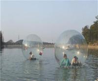 ingrosso zorb balls-2015 Nuovo arrivato Popolare Acqua che cammina palla PVC gonfiabile palla zorb palla d'acqua a piedi palla da ballo palla sportiva DHL libero