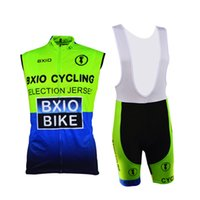 Wholesale Cheap Cyclist Jerseys - Green Cycling Wear Sets Cyclist Anti Pilling Lycra Polyester Cycle Clothing Cheap Team Cycling Jerseys BX-0309G-004