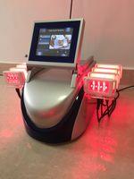 máquina de láser para quemar grasa al por mayor-diodo profesional lipolaser celulitis eliminación de grasa quema lipo láser cuerpo que adelgaza la máquina 650nm980nm