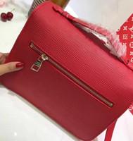 Wholesale Ripple Mini - Hot 2018 Top quality women handbag pochette Metis shoulder bags crossbody bags water ripple Free Shipping Wallets Straps