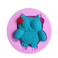 Cutter owl cookie cutter - 1pc Cake Decorating Silicone Mould Cookies Candy Chocolate Soap Baking Owl Mold