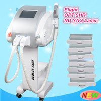 E light OPT SHR Macchina per la depilazione Q switch ND YAG Laser Tattoo Removal machine shr elight ipl rf