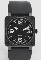 Wholesale Christmas Dresses Low Price - Hot Sale Men Automatic Movement Luxury Mechanical Black Rubber Wristwatches Swiss Brand Square Date Stainless Mens Dress Watches Low Prices
