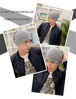 Wholesale Wholesale Knit Hats One Size - Wholesale-Wholesale New Fashion Winter Unisex Solid Color Elastic Hip hop Cap Beanie Hat Slouch 15 Colors One Size Knitted Hat Turban 35