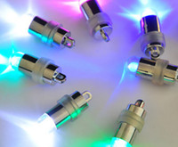 luz de hilo led al por mayor-GDX Tornillo de rosca A Prueba de agua LED Luces de Fiesta Linternas Globos Mini Luces Led Floral Para Centro de Boda KIT Eiffel Glass jarrones YH008