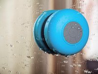 Wholesale Mini Car Speaker Player - 2015 New Portable Waterproof speaker Wireless Bluetooth Speaker Shower Car Handsfree Receive Call & Music Suction Phone Mic Promotion
