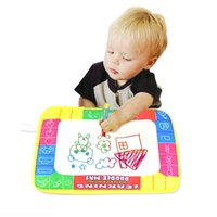 0-12 Months paint mat - New X19cm Water Drawing Painting Writing Mat Board Magic Pen Doodle Gift Dave