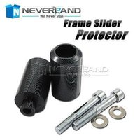Wholesale Sliders Frame Yzf R6 - Hot sale Motorcycle Carbon FRAME SLIDERS Protector for Yamaha YZF 600 R6 YZFR6 1999 2000 2001 2002 Free shipping C20