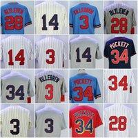 Wholesale Kirby Puckett Jersey - Mens 34 Kirby Puckett Jersey Kent Hrbek Harmon Killebrew Bert Blyleven Cooperstown M&N Throwback Baseball Jerseys